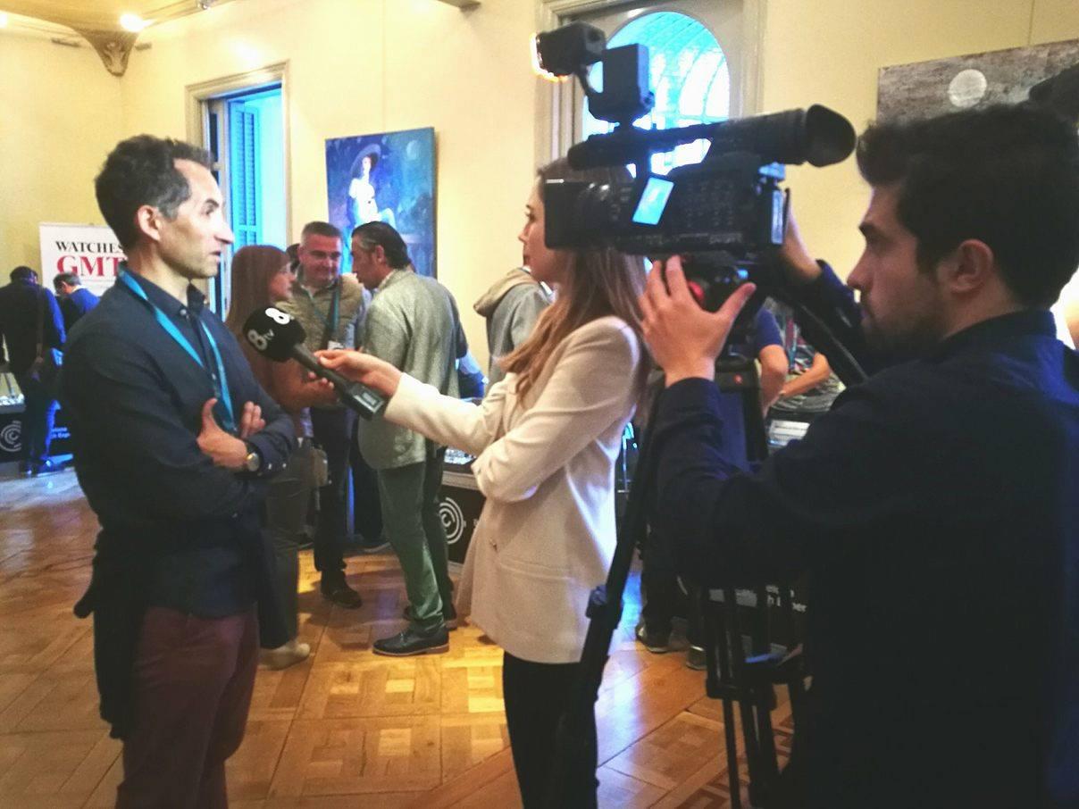 Entrevista de 8TV a Gregori, director BWE