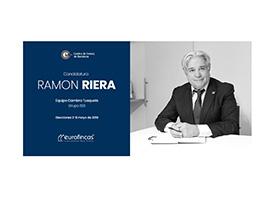 Ramón Riera – Candidato Cambra de Comerç de Barcelona